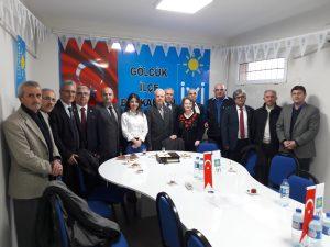 İYİ Parti Gölcük İlçe Başkanı Sayın Büşra KARADEMİR ve yönetimine hayırlı olsun ziyaretine gittik.