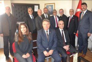 Uzmanlar Derneği Başkanı Sayın Selim KARGI ve yönetim kurulunu ziyaret ettik.