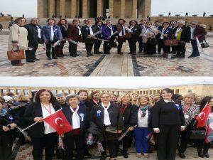 TEMAD Genel Merkezinin düzenlediği 8 Mart Emekçi Kadınlar Günü Etkinliğine şubemiz üyesi, üye eşi 20 kadın katılmıştır.