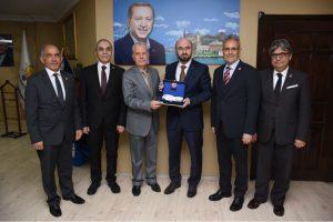 Ak Parti Kocaeli İl Başkanı Şemsettin Ceyhan ve yönetim kurulunu ziyaret ettik.