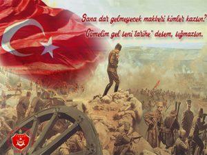 Vatan topraklarını korumak için şahlanan bir milletin bağımsızlığının ve egemenlik aşkının ibret verici kahramanlık destanının yazıldığı Çanakkale Zaferinin,103.yıl dönümünü gururla anarken şehit ve gazilerimize şükranlarımızı sunuyoruz