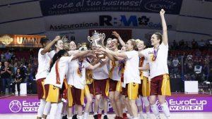 Galatasaray Kadın Basketbol takımı EuroCup'ta şampiyon oldu.