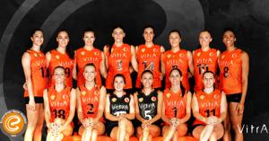 Eczacıbaşı kadın voleybol takımı Kadınlar CEV Kupası finalinde 5' inci şampiyonluğunu kazandı.