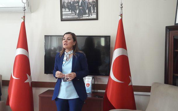 CHP Mv. Sayın Av.Fatma Hürriyet KAPLAN derneğimizi ziyaret etti.