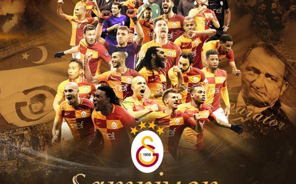 2017 -2018 Türkiye Süper Lig Şampiyonu Galatasaray oldu.