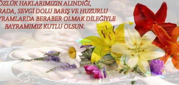 Özlük haklarımızın alındığı, bir arada, sevgi dolu barış ve huzurlu nice bayramlarda beraber olmak dileğiyle, Bayramımız kutlu olsun!