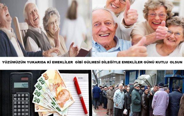 Dünya Emekliler Günü Kutlu Olsun.