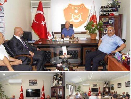 İYİ Parti Mv. adayı sayın Ali TÜRKŞEN derneğimizi ziyaret etti.