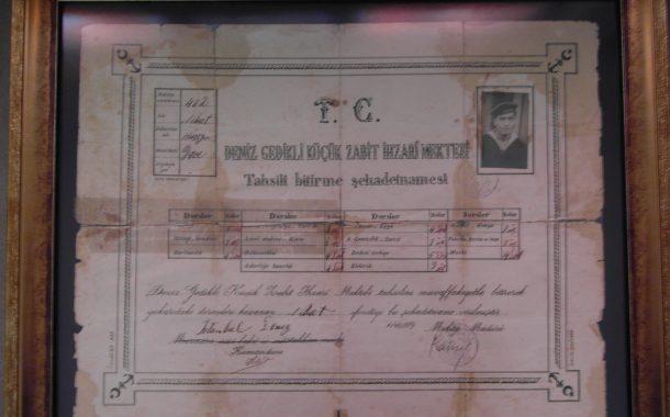 1934 mezunu meslektaşımız Nihat ERKAN' a ait diploma kızı İlçin ERKAN tarafından derneğimize hediye edilmiştir.