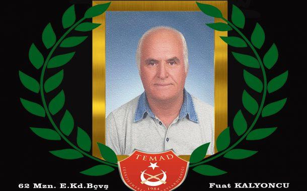 1962 mezunu E.Kd.Bçvş Fuat KALYONCU hakkın rahmetine kavuşmuştur. Mekanı cennet olsun. Merhum 2 Ağustos öğle namazı sonrası Hendek yeni caminden ebedi istirahatgahına uğurlanacaktır.