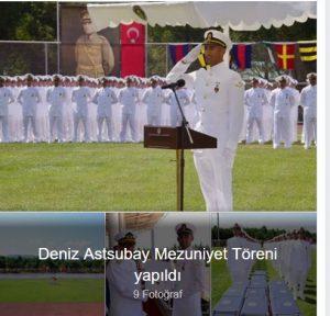 Deniz Astsubay Mezuniyet Töreni yapıldı