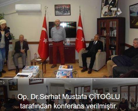 Özel Kocaeli Hastanesi doktoru Serhat Mustafa ÇİTOĞLU tarafından  konferans verilmiştir.