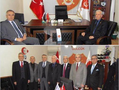 Gölcük Kaymakamı Sayın Mustafa ALTINTAŞ ziyaretimize geldi.
