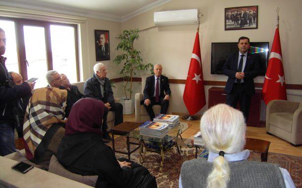 Saadet Partisi Gölcük Belediye Başkan Adayı Sayın Nihat YILDIZ derneğimizi ziyaret etti.