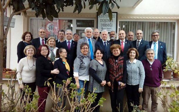 ADD Gölcük Şube Başkanlığıma seçilen meslektaşımız Sayın Cemil ÖZBAŞ ve Yönetim Kurulunu ziyaret ettik.
