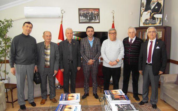Gölcük Bağımsız Belediye Başkan Adayı Sayı Ezgin AYDIN derneğimizi ziyaret etti.