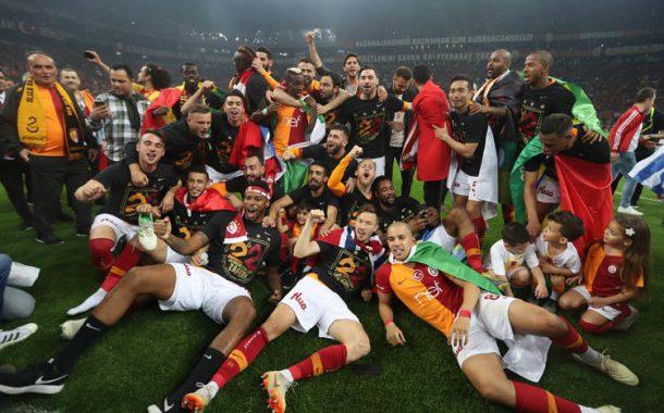 2018 - 2019 süper lig şampiyonu Galatasaray oldu.