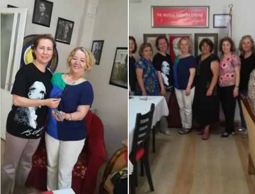 Kadın Kolları komisyonumuz ADD Gölcük Şubesi Kadınlar Kolunu ziyaret etti.