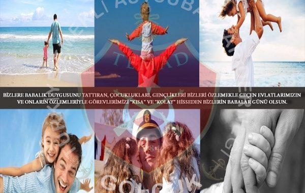 """BİZLERE BABALIK DUYGUSUNU TATTIRAN, ÇOCUKLUKLARI, GENÇLİKLERİ BİZLERİ ÖZLEMEKLE GEÇEN EVLATLARIMIZIN VE ONLARIN ÖZLEMLERİYLE GÖREVLERİMİZİ """"KISA"""" VE """"KOLAY"""" HİSSEDEN BİZLERİN BABALAR GÜNÜ OLSUN."""