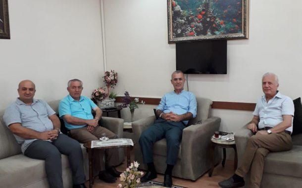 Gölcük Muharip Gaziler Dernek Başkanı Sayın Mehmet ARSLAN ve Gölcük Esnaf ve Sanatkarlar odası başkanı sayın Necmi KOCAMAN derneğimizi ziyaret etti.