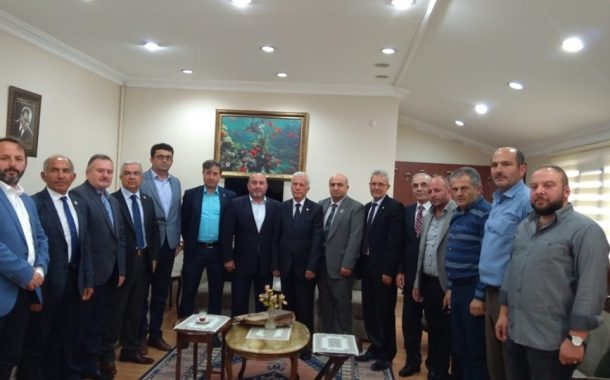 17 Ekim TEMAD Kuruluş ve Dünya Astsubaylar Gününü kutlamak için AKP Gölcük ilçe başkanı Sayın Çetin SEYMEN ve yönetim kurulu üyeleri derneğimizi ziyaret ettiler...