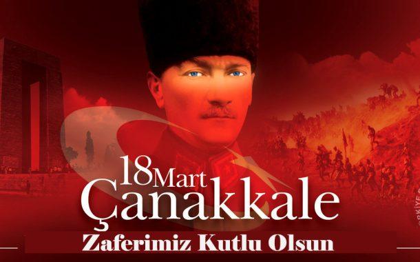 18 Mart Çanakkale Zaferimiz Kutlu Olsun. Bu topraklar uğruna hayatını kaybeden şehitlerimizi minnetle anıyoruz.